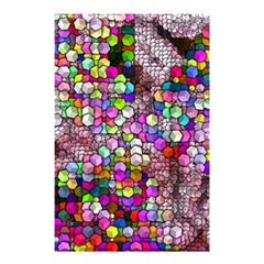 Artistic Cubes 3 Shower Curtain 48  X 72  (small)
