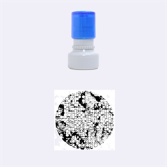 Artistic Cubes 3 Rubber Round Stamps (small)