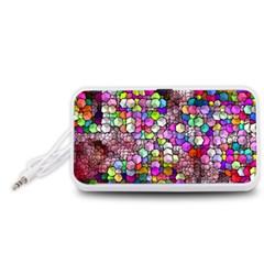 Artistic Cubes 3 Portable Speaker (White)