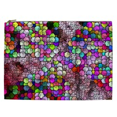 Artistic Cubes 3 Cosmetic Bag (XXL)