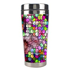 Artistic Cubes 3 Stainless Steel Travel Tumblers
