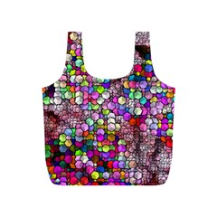 Artistic Cubes 3 Full Print Recycle Bags (S)