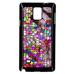 Artistic Cubes 3 Samsung Galaxy Note 4 Case (Black)