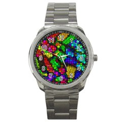 Artistic Cubes 4 Sport Metal Watches