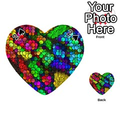 Artistic Cubes 4 Playing Cards 54 (Heart)