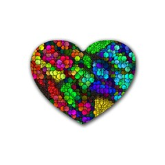 Artistic Cubes 4 Heart Coaster (4 pack)
