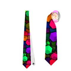 Artistic Cubes 4 Neckties (one Side)
