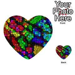 Artistic Cubes 4 Multi Purpose Cards (heart)
