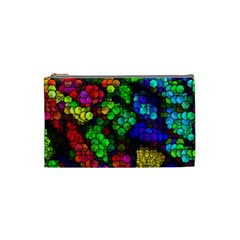 Artistic Cubes 4 Cosmetic Bag (Small)