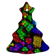 Artistic Cubes 4 Ornament (christmas Tree)