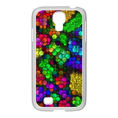 Artistic Cubes 4 Samsung GALAXY S4 I9500/ I9505 Case (White)