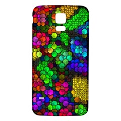 Artistic Cubes 4 Samsung Galaxy S5 Back Case (White)