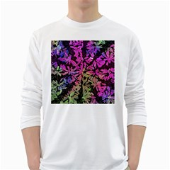 Artistic Cubes 5 White Long Sleeve T Shirts