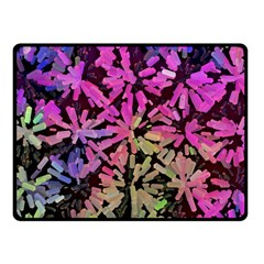 Artistic Cubes 5 Fleece Blanket (small)