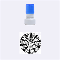 Artistic Cubes 5 Rubber Round Stamps (Small)