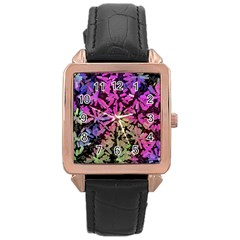 Artistic Cubes 5 Rose Gold Watches