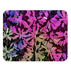 Artistic Cubes 5 Double Sided Flano Blanket (large)