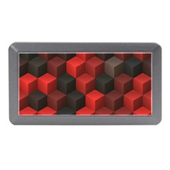 Artistic Cubes 7 Red Black Memory Card Reader (mini)