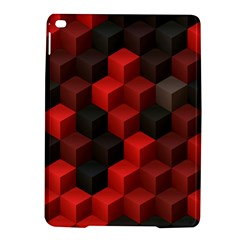 Artistic Cubes 7 Red Black Ipad Air 2 Hardshell Cases