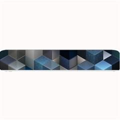 Artistic Cubes 9 Blue Small Bar Mats