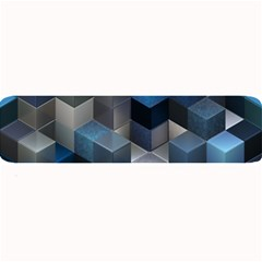 Artistic Cubes 9 Blue Large Bar Mats