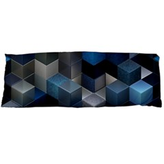 Artistic Cubes 9 Blue Body Pillow Cases (Dakimakura)