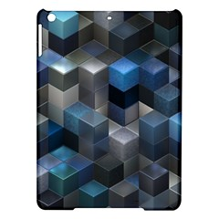 Artistic Cubes 9 Blue iPad Air Hardshell Cases