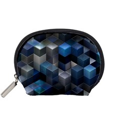 Artistic Cubes 9 Blue Accessory Pouches (Small)