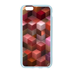 Artistic Cubes 9 Pink Red Apple Seamless iPhone 6/6S Case (Color)