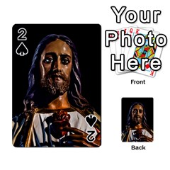 Jesus Christ Sculpture Photo Playing Cards 54 Designs