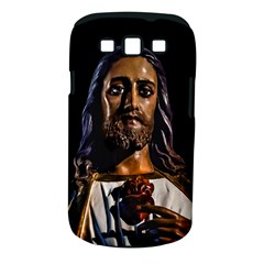 Jesus Christ Sculpture Photo Samsung Galaxy S III Classic Hardshell Case (PC+Silicone)