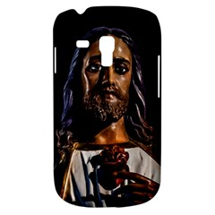 Jesus Christ Sculpture Photo Samsung Galaxy S3 MINI I8190 Hardshell Case