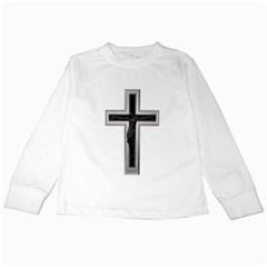 Christian Cross Kids Long Sleeve T Shirt