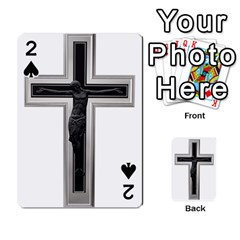 Christian Cross Playing Cards 54 Designs