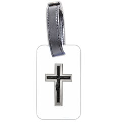 Christian cross Luggage Tag (two sides)