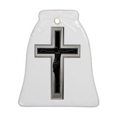 Christian Cross Ornament (bell)