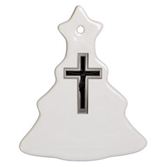 Christian Cross Christmas Tree Ornament (two Sides)