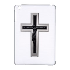 Christian cross Apple iPad Mini Hardshell Case (Compatible with Smart Cover)