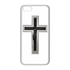 Christian cross Apple iPhone 5C Seamless Case (White)