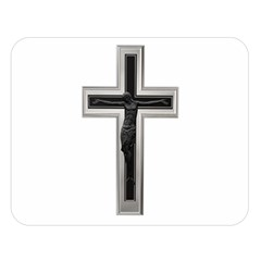 Christian Cross Double Sided Flano Blanket (large)