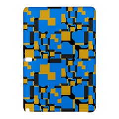 Blue yellow shapes	Samsung Galaxy Tab Pro 12.2 Hardshell Case