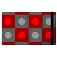 Circles In Squares Pattern Apple Ipad 3/4 Flip Case