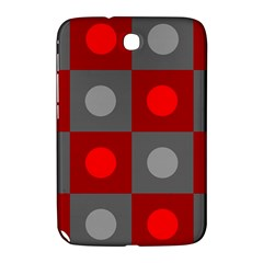 Circles in squares pattern Samsung Galaxy Note 8.0 N5100 Hardshell Case