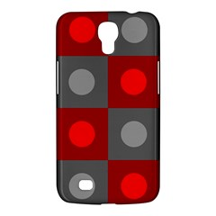 Circles in squares pattern Samsung Galaxy Mega 6.3  I9200 Hardshell Case