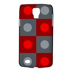 Circles in squares pattern Samsung Galaxy S4 Active (I9295) Hardshell Case
