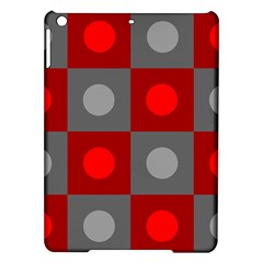 Circles in squares pattern Apple iPad Air Hardshell Case
