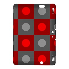 Circles In Squares Pattern Kindle Fire Hdx 8 9  Hardshell Case