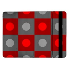 Circles in squares pattern	Samsung Galaxy Tab Pro 12.2  Flip Case