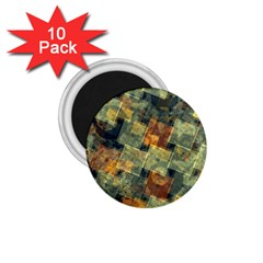 Stars circles and squares 1.75  Magnet (10 pack)
