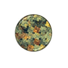 Stars circles and squares Hat Clip Ball Marker (4 pack)